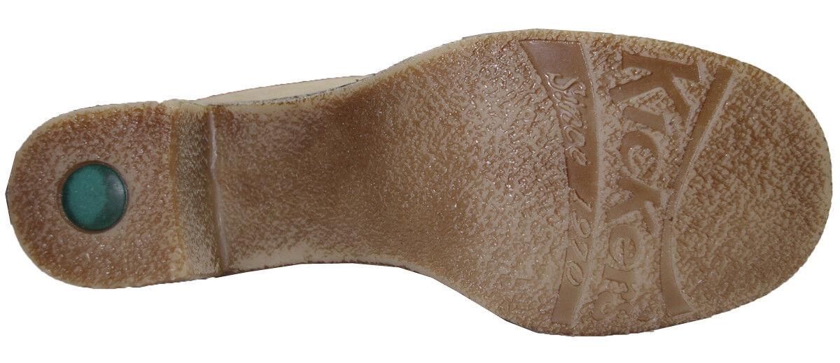 KICKERS botas femme femme femme KILFO  femme cuir nubuck beige vieilli Talla 37 e72a3c