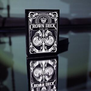 Deck by The Blue Crown BLACK Black Crown Playing Cards Limited Edition