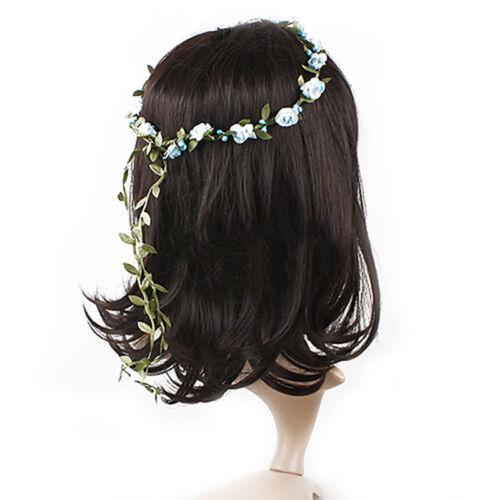 Bohême fleurs Couronne de mariage Garland Forehead cheveux Head Band Couronne he
