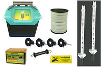 Electric Fencing / Fence Equine Plus Starter Kit - 4ft Posts - Free P&p