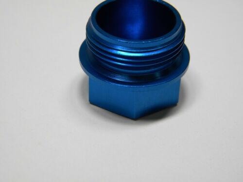 7//8-20 Holley QFT AED CCS 26-145B Fuel Bowl Plug Blue