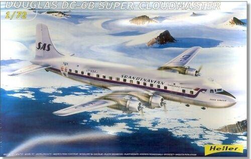 HELLER 1//72 DC6B Super Cloudmaster Aircraft HLR80315