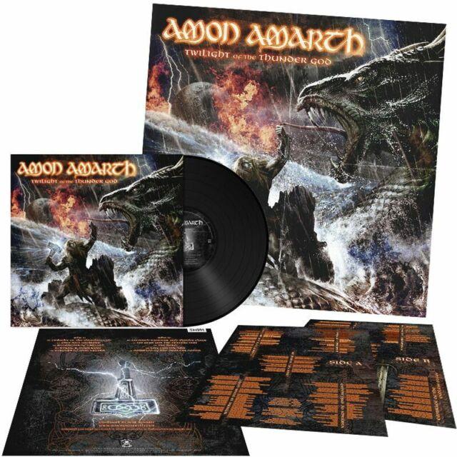 AMON AMARTH - Twilight Of The Thunder God LP black Vinyl NEUWARE