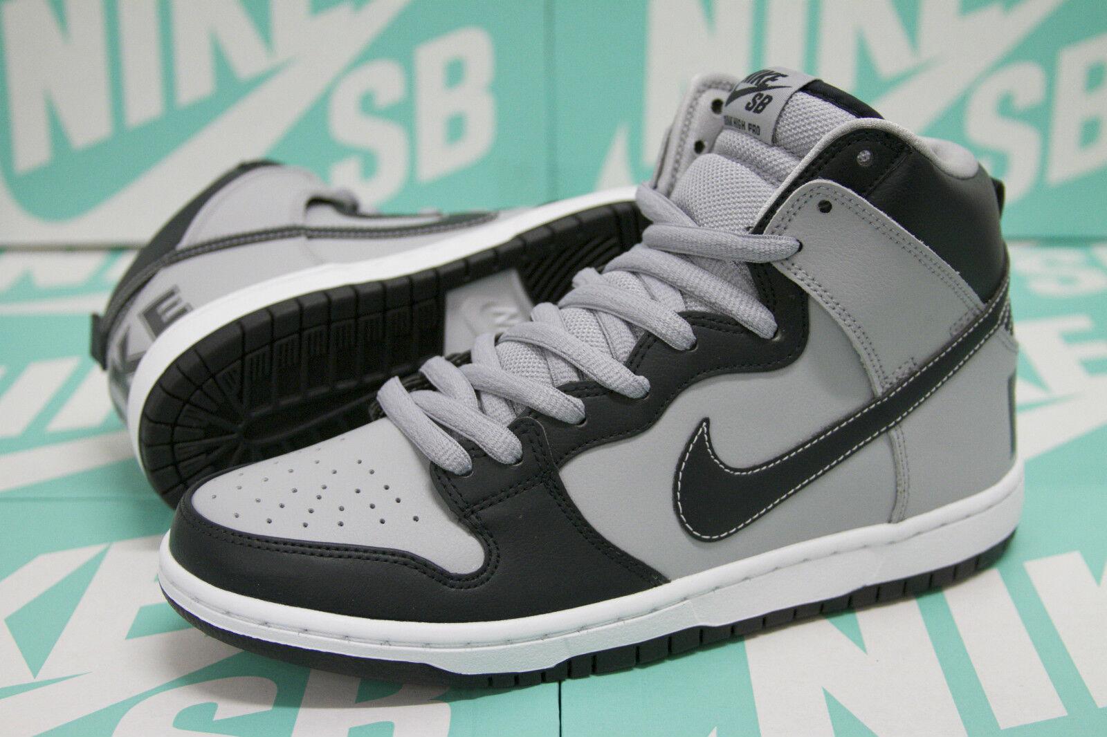 Nike sb schiacciare alto premio - rivale pack georgetown hoyas 313171 440 ossidiana grigia