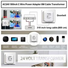 VIIVRIA 24 Volt Transformer, C Wire Adapter Thermostat, Competible with All of