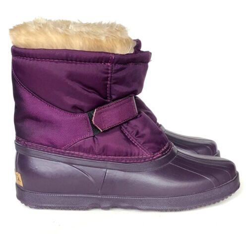 6 invernale Purple on Sorel gomma Taglia Slip Stivaletto us Nylon wqvnRqZH