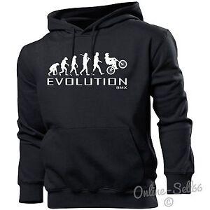 BMX-Evolution-Hoodie-Mens-Womens-Kids-Sports-Bike-Stunt-Skate-Park-Boys-Present
