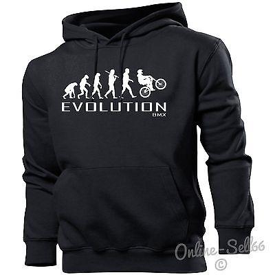 MENS WOMENS ADULTS, EVOLUTION OF A BIKER HOODIE