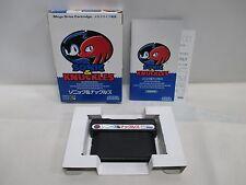Mega-Drive Genesis -- Sonic & Knuckles -- Box. JAPAN Game Sega. 14486