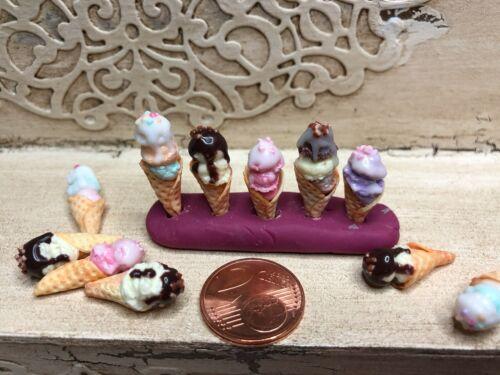 Fimobabsi Mini Shop 2 eishörnchen Handmade