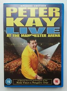 PETER-KAY-LIVE-AT-THE-MANCHESTER-ARENA-DVD-Film-Movie-Stand-Up-Comedy-Tour