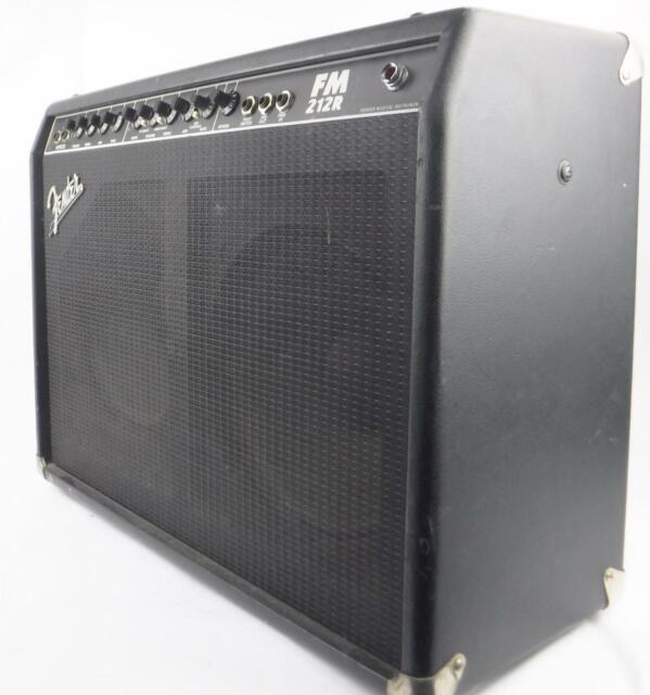 Fender FM212R Frontman 100 Watt Combo Guitar Amplifier - Tested & Working