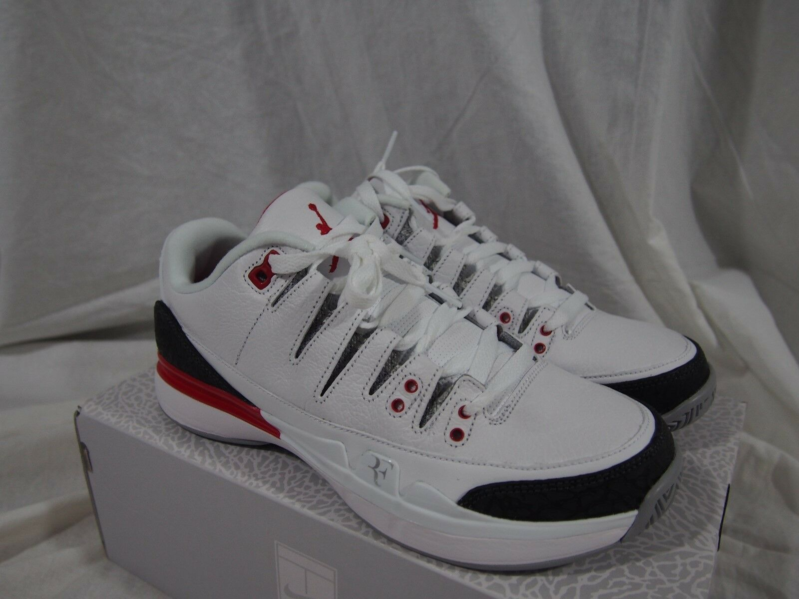Nike - x aj3 zoom vapore fuoco rosso 709998-106