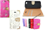 thumbnail 3 - Fashion Leather Bling Crystal Diamond Wallet Book Case Cover For Mobile Phone