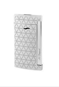 FleißIg S.t. Dupont Slim 7 Feuerzeug Chrome Fire Head Design, 027716, Neu&ovp Elegant Und Anmutig