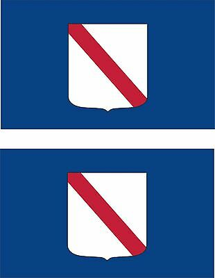 Ligurien Flagge Aufkleber Autoaufkleber Sticker Fahne Italien