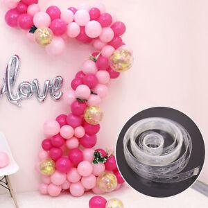 5-M-ballon-chaine-ruban-arc-connecter-bandes-pour-mariage-fete-d-039-anniversaire-ballon-decor