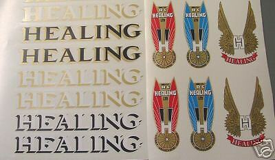 Healing set  of decals Choices only one set per sale  great offers