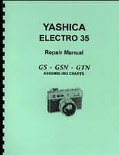 Yashica Electro 35 Camera Repair Manual