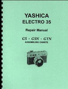 yashica camera repair: