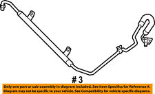 Genuine Chrysler 4862304AB Power Steering Pressure Hose