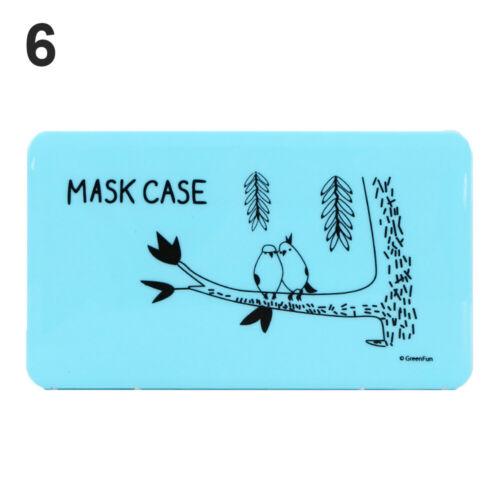 für Gesichtsmaske Travel Organizer Box speichern Speicherkoffer für Masken