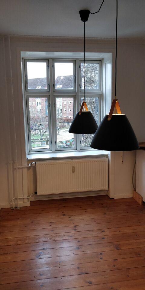 3 værelses andelslejlighed 100m fra Nørrebro st.