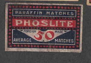 Ancienne étiquette Allumette Belgique Nn12 Phoslite Jnijvedy-08003528-455341343