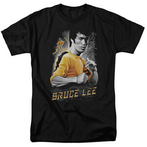 91409d9b1af2 Image is loading Bruce-Lee-Yellow-Dragon-Licensed-Tee-Shirt-Adult-