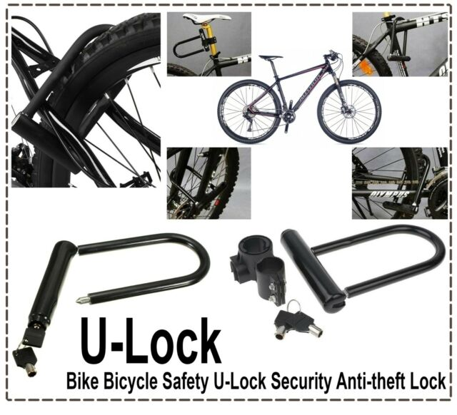 Cable Bicycle Security LVL 10 Master Lock 8274 U-Bar Bike Lock 210x110x13mm