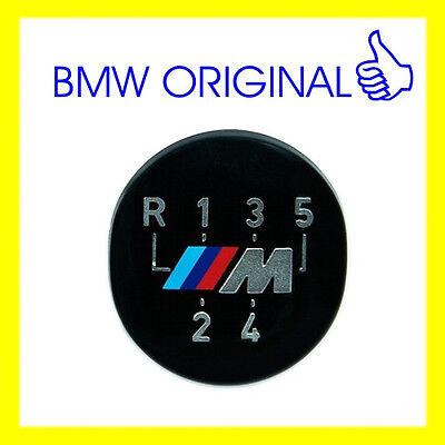 BMW Original M 5-Speed Gear Knob Badge Emblem E60 E39 E46 E36 E30 25111221613