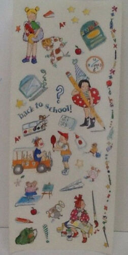 Back To School Scrapbooking Craft Stickers by Autumn Leaves