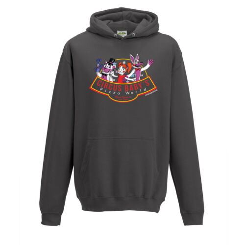 Circus Baby/'s Pizza World FNAF Five Nights Sister  Inspired Hoodie  S to 2XL