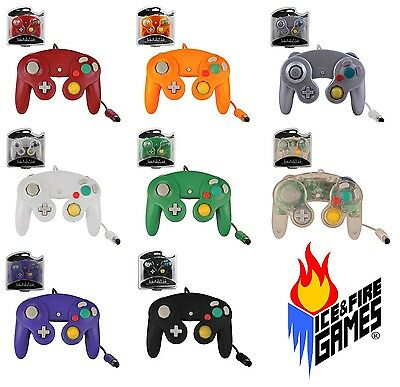 4 New Controllers for Nintendo GameCube / Wii -- You Choose the Colors