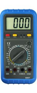 DESTOCKAGE-60-Multimetre-Numerique-HOLDPEAK-HP-9801-AC-DC-750-V20A