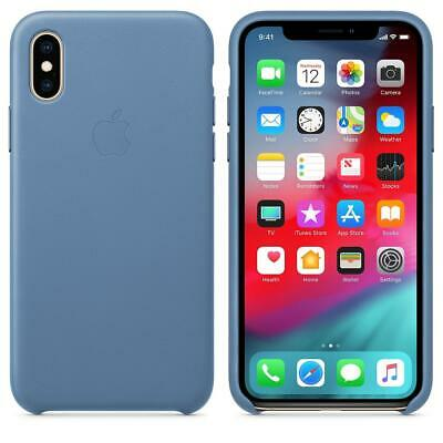 Apple MRWQ2ZM/A Leather Case iPhone Xs Max Cover Custodia in Pelle