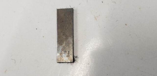2.5mm Webber Rectangular Steel Gage Block