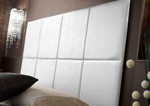 Testata letto matrimoniale imbottita testiere camera 2 piazze design b b albergo ebay - Testiere per letto matrimoniale ...