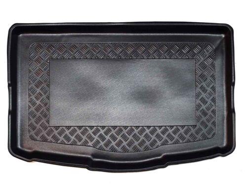 Boden tief Riffelblech Design Kofferraumwanne für Nissan Qashqai 2 J11 2014