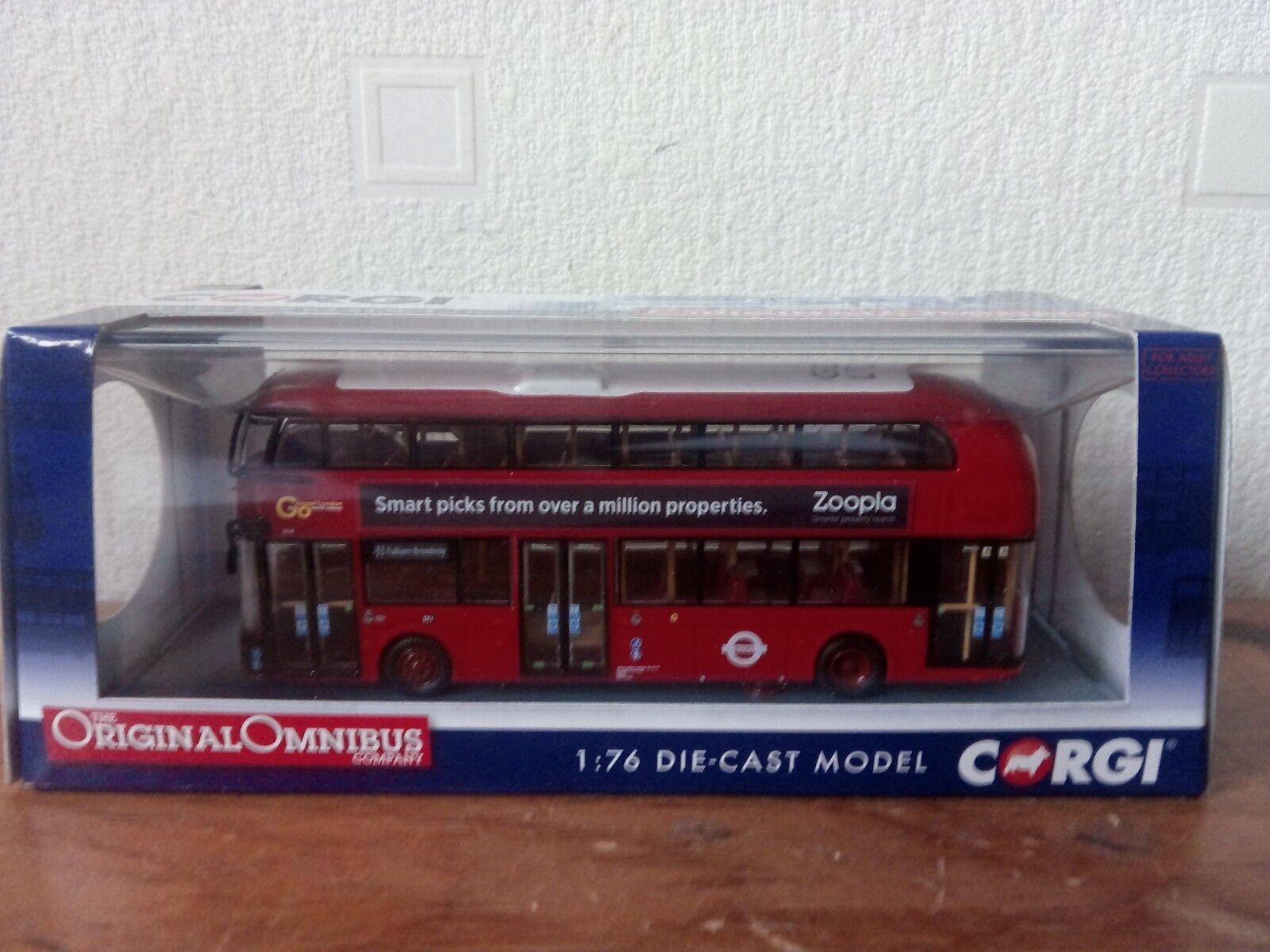 CORGI OM46610B OM46610B OM46610B GO AHEAD NEW BUS FOR LONDON BUS 747