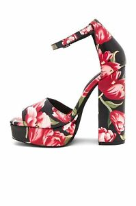 0c40b1f3fb9 Image is loading Jeffrey-Campbell-Red-Tulip-Mika-Heels-9-145-