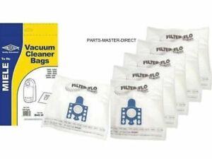 Para-Miele-S2111-Bolsas-Aspiradora-Tipo-Gn-5-Paquete-con-Filtro