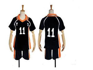 Haikyuu! Tsukishima Cosplay Uniform Costume #11 NEW | eBay