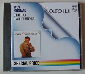 YVES-MONTAND-CD-D-039-HIER-ET-D-039-AUJOURD-039-HUI