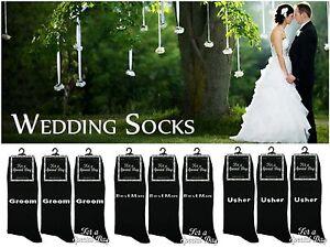 1-Mens-amp-Boys-Bride-Groom-Bestman-Cotton-Rich-Wedding-Day-Socks-All-Sizes