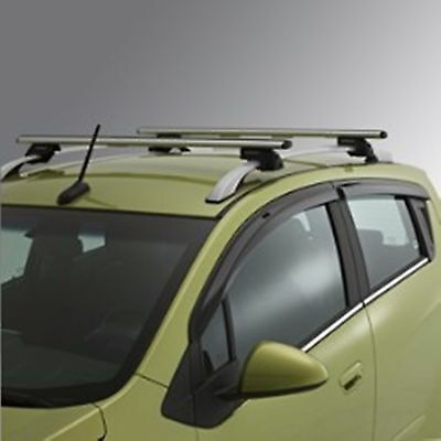 GM Roof Rack Cross Rail Package with Hardware Fits 2013-2015 Chevrolet Spark OEM