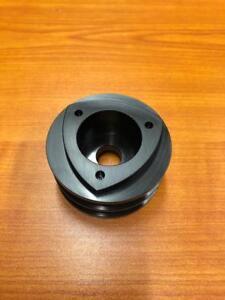 Mazda-Rotary-Aluminium-Rotor-Alternator-Pulley-Twin-Belt-Black