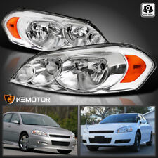 For 2006 2013 Chevy Impala 2006 2007 Monte Carlo Headlights Lamps Leftright Fits 2006 Impala