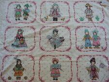 "America  fabric World Children  Panel fabric  45""x 34""no:59"