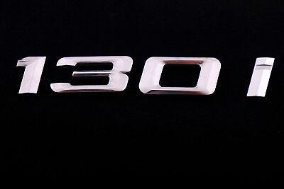 BMW 1 Series E81 E87 LCI Rear Boot Lid Trunk Adhered 130i Emblem Lettering